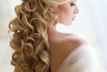 Wedding Hair / Things I could do with my hair.