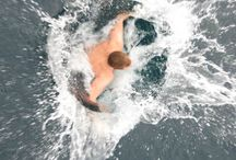 Take the plunge! / A must do when visiting polar destinations and icy landscapes!