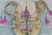 ethnic sandals