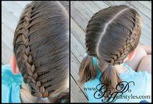 Hairstyles / by Leandra Lantzer