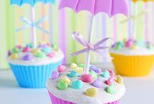 Cupcake and cake decoration