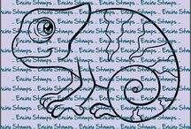 digi stamps by Encino Stamps / Encino Stamps offers hand drawn digital images for all your cardmaking, scrapbooking and crafting needs.
