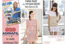Riviste/Magazine/Revue / Main Fait Crochet, Ideal e tante altre..