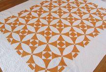 Orange patchwork