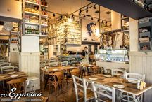 Tο ελληνικό / H παρεΐστικη ατμόσφαιρα, η φιλική εξυπηρέτηση, και τα προσεγμένα μεζεδάκια φτιαγμένα με τα πιο αγνά υλικά συναντιούνται σε ένα διαμορφωμένο χώρο που θυμίζει έντονα παντοπωλείο άλλης εποχής!  #τοελληνικό #ουζομεζεδοπωλείον #Γλυφάδα