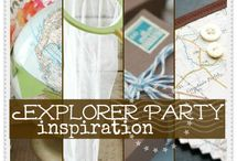 Explorer - Indiana Jones Party / by Wisteria Urban Country