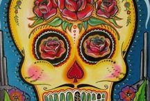 sugar skulls / by New Orleans VoodooCouple