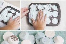 Muffin bath bomb / Furdobomba