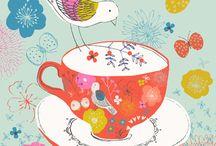 Schilderijen high tea