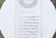 Beautiful Baby Shower Stuff / Great ideas for fun and beautiful baby showers! / by Heather Hollifield