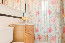 Bathroom Floral/Pink