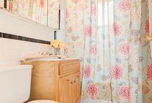 Bathroom Floral/Pink