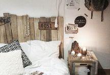 Chambres rustiques