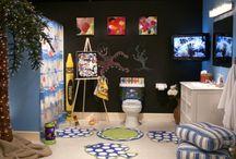 Cool KIDS Bathroom Designs