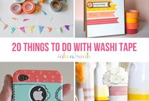 washi tapes project