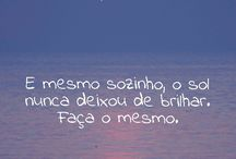 Frases / paisagens