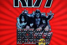 KISS Day! / Kiss Day in Hard Rock Cafe Edinburgh celebrating KISS and our signature series t-shirt/pin in aid of City of Hope's efforts to conquer cancer, diabetes, HIV/Aids, and other life threatening diseases!