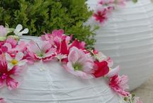 boules japonaises fleuries