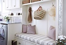 Laundry Room Ideas / Laundry room design ideas.