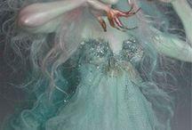 fairys + mermaids