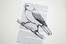 Crafted From Books Or For Books/ Paper Crafts / by Paula Scott