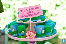 Alice in Wonderland Party Ideas // Michelle's Party Plan-It / Alice in Wonderland inspired party ideas and inspiration.