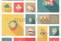 Christmas&NewYear Postcards