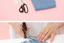 Monki Cares - DIY Denim Hacks / Jeanious DIY ideas on how to make your fave jeans even more sustainable and help you use them even longer.