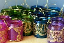 lamparas arabes para jardin
