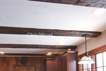 Reclaimed Barnwood Beams / Historic local barns are made of more than exterior wood. We uncover and reclaim antique stone, tin, and wooden beams full of the markings of time. Antique wood trim carefully removed and restored, so it can accent your home with ageless beauty. We work with you to add architectural accents that compliment your home's structure and design.