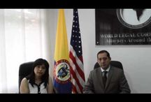 Vídeos jurídicos / Todos los vídeos de la firma World Legal Corporation  https://www.youtube.com/user/WorldLegalCorporatio/