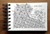Mein Skizzenbuch / Ein Einblick in mein Skizzenbuch, ohne Worte, zum Durchblättern.