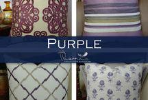 Purple Accent Home Decor