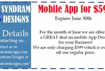 Mobile App design for businesses / Mobile App design by Syndram Designs to help grow your business