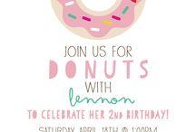 Doughnut party Camila