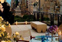 Amazing balconies