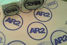 LOGOS y MARCAS / Sellos de goma personalizados con Logos y Marcas. Para usar con tinta al agua, indeleble y con tinta offset para mejor calidad de sellado.