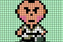 Mother 2 / It is a design for parlor beads mother 2 .