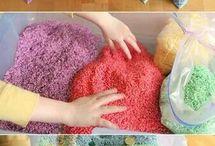 Dye rice