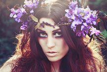 Sparkle Adornments / Fairy/flower garlands, crowns, headdresses, adornments, festival goddesses