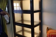 Home Display Cabinets by Chezrich Singapore / Premium glass and wood Display Cabinets for Home-Users by Chezrich Singapore
