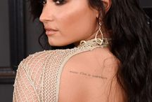 tattoos demi lovato