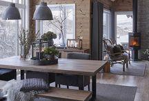 Dining/living room decor