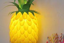 Ananas / Lampe