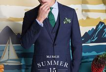 M.J. Bale Summer 15 Lookbook / It's all surfing, lazy days at the beach then cocktails (preferably in hollowed out pineapples) and tailoring dreams this summer.