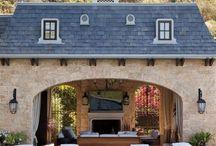 pool house/cabana/kitchen
