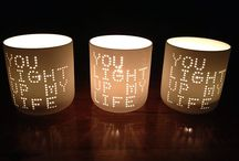 LIGHT • UP • MY • LIFE / Candles .. I love them.