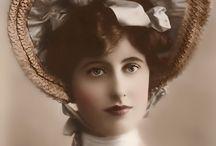 Vintage Woman, Retro Frau, Nostalgia Donna