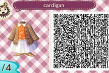 Acnl Fall QR clothes