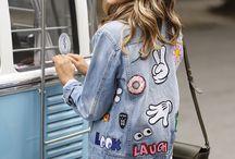 Jaquetas Jeans + Patches